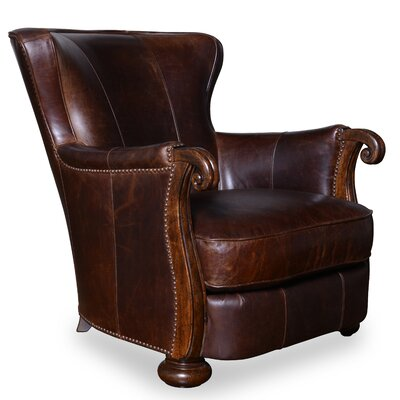 Kennedy Leather Lounge Chair by A.R.T.
