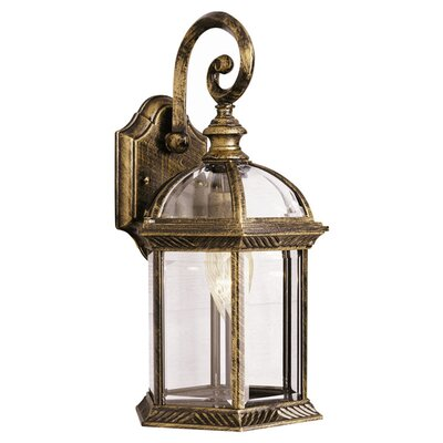 Wayfair Outdoor Wall Lights : TransGlobe Lighting Outdoor 1 Light Wall Lantern & Reviews Wayfair