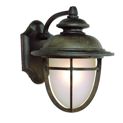 TransGlobe Lighting Energy Efficient Outdoor 6 Light Wall Lantern
