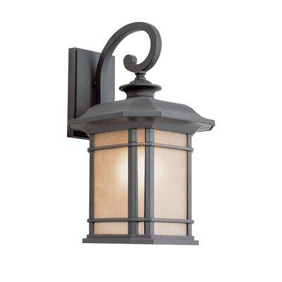 TransGlobe Lighting Corner Windows 1 Light Outdoor Wall Lantern & Reviews Wayfair