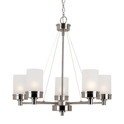Urban Swag 5 Light Chandelier Product Photo