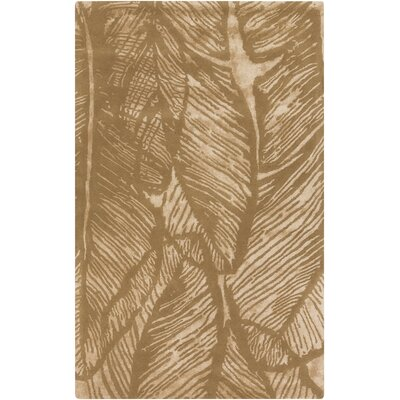 Modern Classics Beige/Gold Floral Rug by Candice Olson