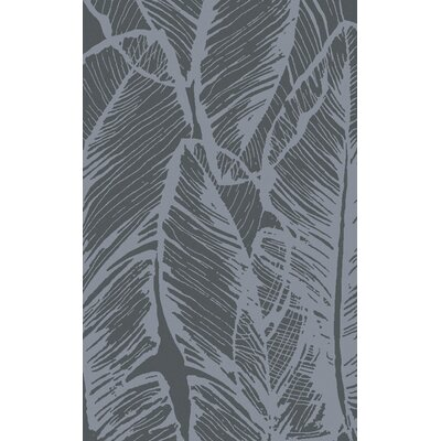 Modern Classics Gray Floral Rug by Candice Olson