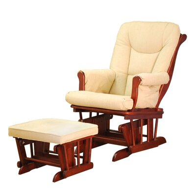 AFG Furniture Sleigh Glider and Ottoman GL7126