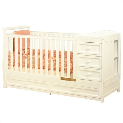 AFG Furniture Daphne 3-in-1 Convertible Crib