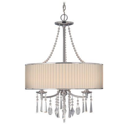 Echelon 3 Light Chandelier Product Photo