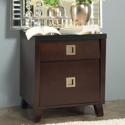 Marlowe 2 Drawer Nightstand by angelo:HOME