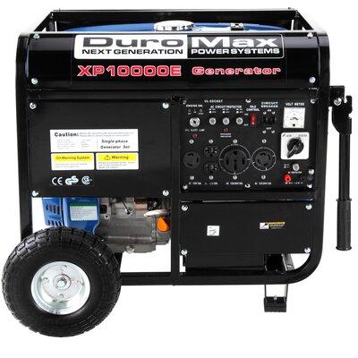 10,000 Watt Gasoline Generator with Electric Start by Duromax