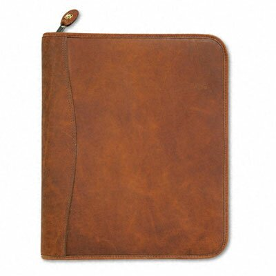 Day-Timer® Aviator Cowhide Leather Zippered Organizer Starter Set