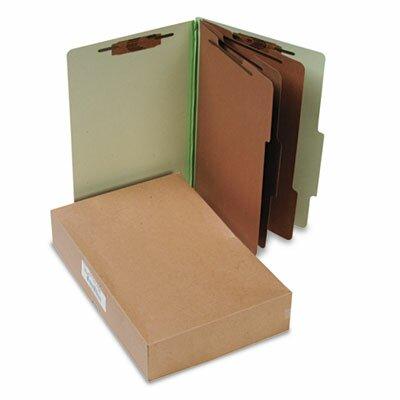 Acco Brands, Inc. Pressboard Classification Folders, Legal, 8-Section, 10/Box