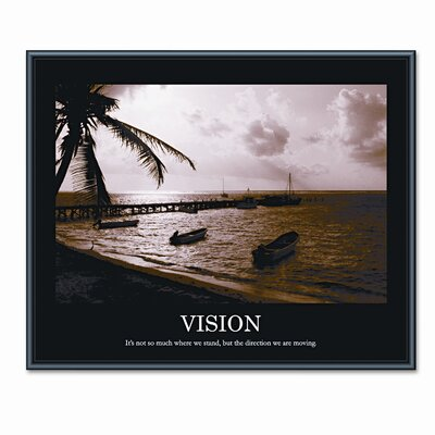 Advantus Corp. 'Vision' Framed Photographic Print