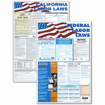 Advantus Corp. State/Federal Labor Law/Legally Required Photographic Print