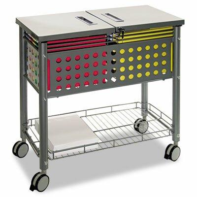 Advantus Corp. Vertiflex Smar2rx File Cart, 1-Shelf, 29-1/8W X 14D X 28-3/8H