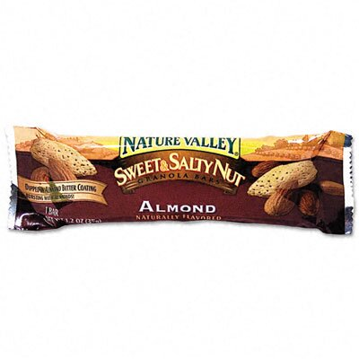 Advantus Corp. Granola Bars, Sweet & Salty Nut Almond Cereal, 1.5oz Bar, 16/box
