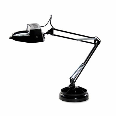 "Advantus Corp. Ledu Full Spectrum Magnifier 30"" H Table Lamp with Novelty Shade"