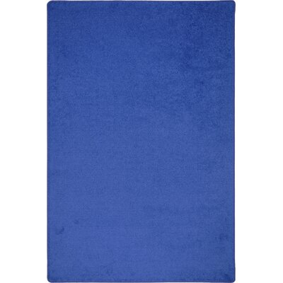 Joy Carpets Endurance Royal Blue Area Rug 80