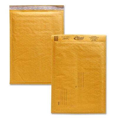 "Alliance Rubber Envelopes,No. 4,Bubble Cushioned,9-1/2""x14-1/2"""
