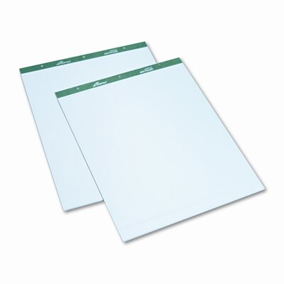 AMPAD Corporation Envirotec Flip Chart Pads, Quadrille Rule, 27 X 34, We, 2 50-Sheet Pads/Pack