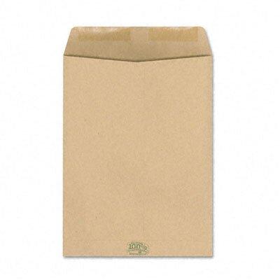 AMPAD Corporation Envirotech 60Lb. Catalog Envelope, Side Seam, 9 X 12, Kraft, 110/Box