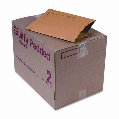 Sealed Air Corporation Jiffy Padded Mailer, Side Seam, #2, 100/Carton