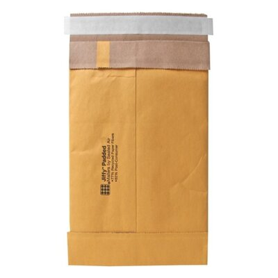 "Sealed Air Corporation Padded Mailers, Peel and Seal, 8-1/2""x14-1/2"", 100/CT, Kraft"
