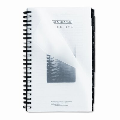 At-A-Glance Executive Fashion Weekly/Monthly Planner Refill, 4 5/8 x 8, 2016