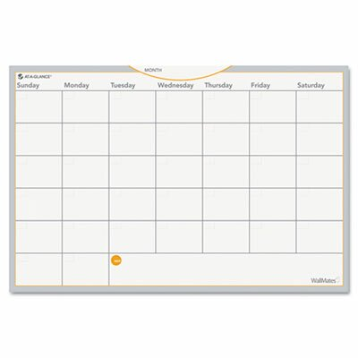 At-A-Glance WallMates Wall Mounted Calendar/Planner Whiteboard