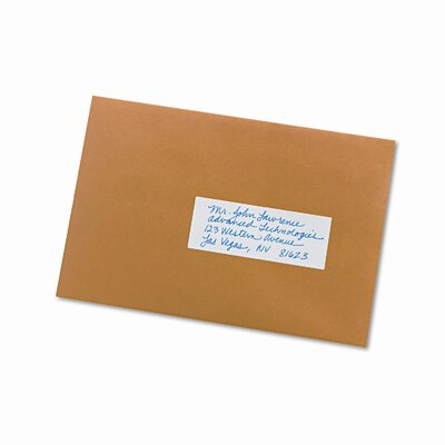 Avery Consumer Products Print or Write Removable Multi-Use Labels, 1-1/2 X 4, 150/Pack