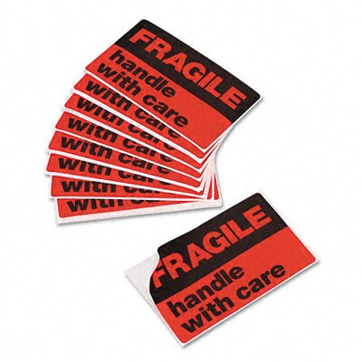 Avery Consumer Products Fragile-Handle with Care Labels, 40/Pack