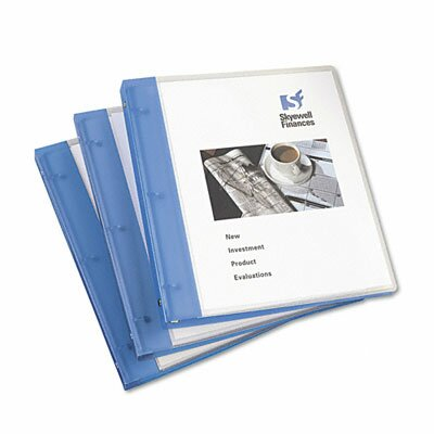 "Avery Consumer Products Flexible Round Ring Presentation Binder, 1/2"" Capacity"