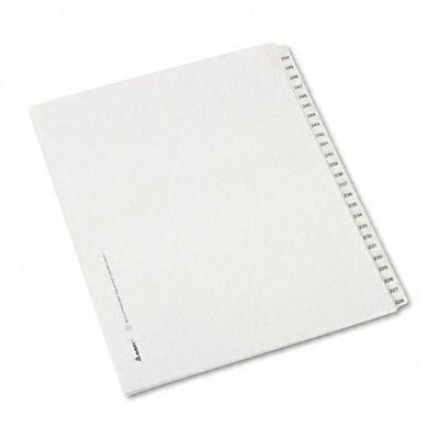 Avery Consumer Products Allstate-Style Letter Size Tab Dividers, 25-Tab, 226-250 Tab Title