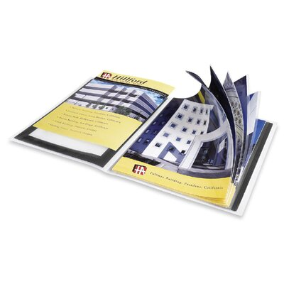 "Avery Consumer Products Presentation Books, 24 Pages, 9-1/2""x11-1/2"", Black"