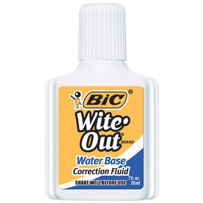 Bic Corporation Bic Wite Out Correction Fluid Water