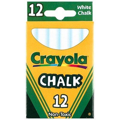 Crayola LLC 12 Sticks - Tuck Box White Chalk