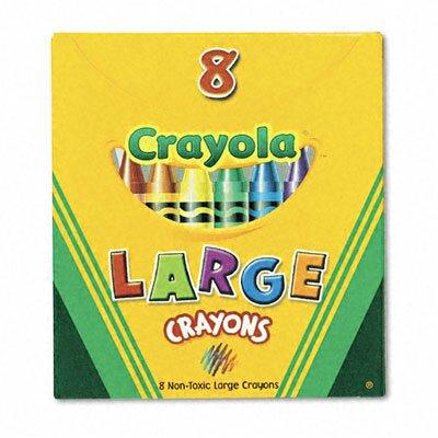 Crayola LLC Large Tuck Box Crayons (8/Box)