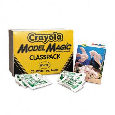 Crayola LLC Model Magic Modeling Compound, 1 Oz Each Packet, 75 Oz