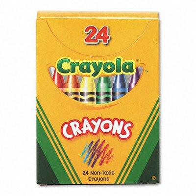 Crayola LLC Classic Color Pack Crayons (Tuck Box, 24/Box)
