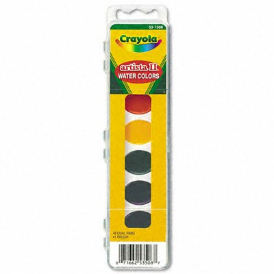 Crayola LLC Artista Ii 8-Color Watercolor Set