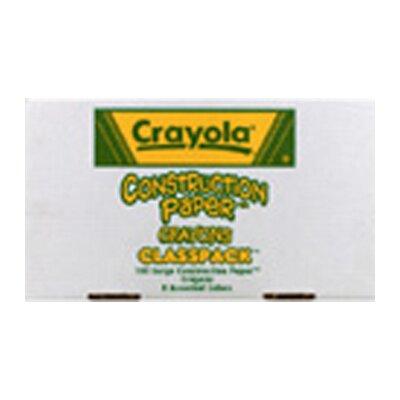 Crayola LLC Crayola Construction Paper Crayons