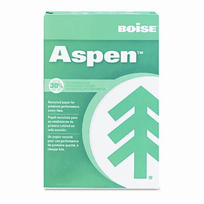 Boise® Aspen 92 Bright 30% Recycled Office Paper (2500 /Carton)