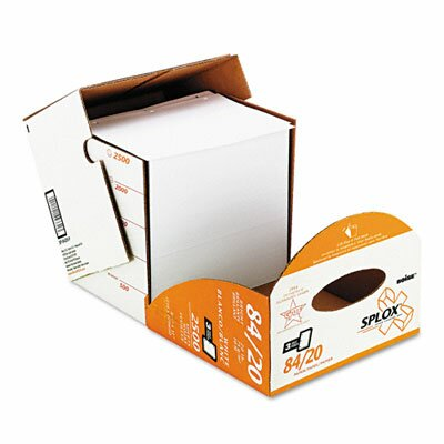 Boise® Splox Paper Delivery System, 3 Hole, 92 Brightness, 20 lb, Ltr, 2500/Carton