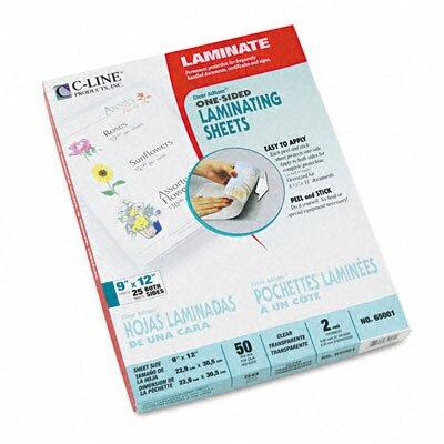 C-Line Products, Inc. Cleer Adheer Laminating Film (50/Box)