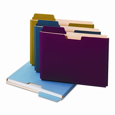 Cardinal Brands, Inc Globe-Weis Expanding File Folder Pocket, Letter, 11 Point Stock (10/Pack)