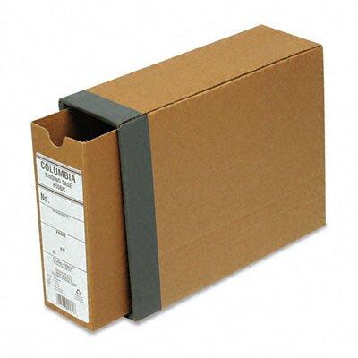 "Cardinal Brands, Inc Globe-Weis Recycled Fiberboard Binding Case, 11 x 8.5, 2.5"" Capacity"