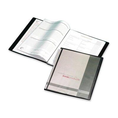 "Cardinal Brands, Inc Presentation Book, 12 Pockets, 11""x8-1/2"", Black"
