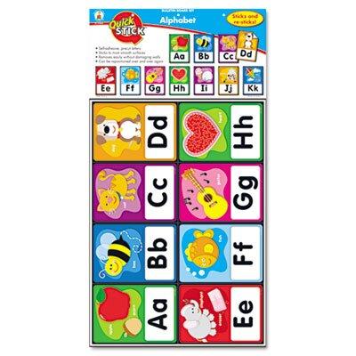 Carson-Dellosa Publishing Quick Stick Bulletin Board Alphabet Letters Set