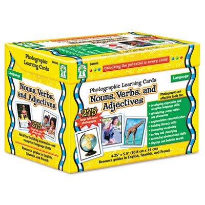 Carson-Dellosa Publishing Photographic Learning Flash Cards Set