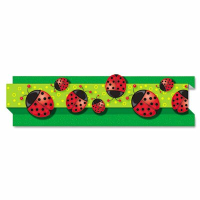 Carson-Dellosa Publishing Ladybugs Pop-It Border and 8 Strips/Pack Classroom Border
