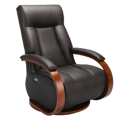 Oslo Top Grain Leather Recliner by Mac Motion