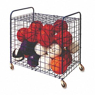 Champion Sports Lockable Ball Utility Cart